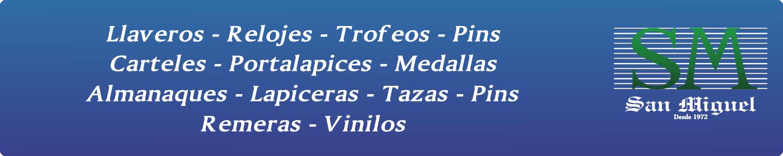 artículos publicitarios tres cruces, San Miguel Artículos Publicitarios